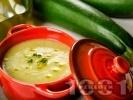 Рецепта Крем супа от тиквички с моркови и лук